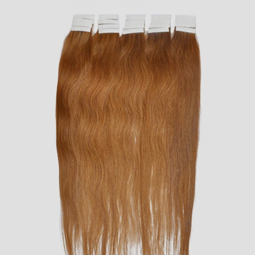 65cm Remy Tape Hair Extension #12, 70g & 20S