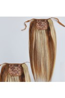 40cm Remy Ponytail Clip In Human Hair Extensions #04/613,80g