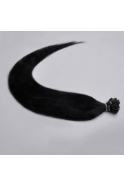 100S 50cm Stick Tip REMY HUMAN HAIR EXTENSIONS #01, 50g