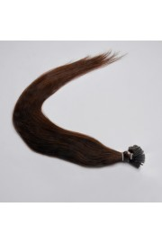 100S 45cm Stick Tip REMY HUMAN HAIR EXTENSIONS #02, 50g