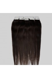 40cm Remy Tape Hair Extension #02, 30g & 20S