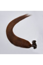 100S 65cm Full Head, Indian Remy Human Hair Extensions,Nail Tip #04, 100g