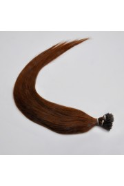 100S 50cm Stick Tip REMY HUMAN HAIR EXTENSIONS #04, 50g