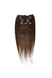50cm 8pcs REMY HUMAN HAIR CLIP IN EXTENSION #04, 100g