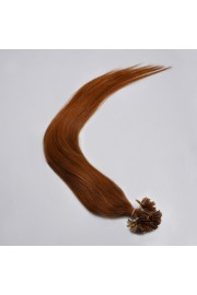 100S 50cm Nail Tip REMY HUMAN HAIR EXTENSIONS #06,50g