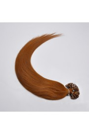 100S 45cm Full Head, Indian Remy Human Hair Extensions,Nail Tip #06,100g