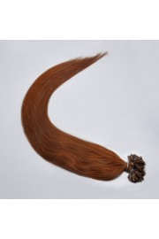100S 60cm Full Head, Indian Remy Human Hair Extensions,Nail Tip #06,100g