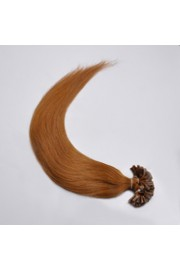 100S 45cm Full Head, Indian Remy Human Hair Extensions,Nail Tip #08,100g