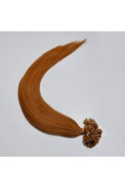 100S 50cm Nail Tip REMY HUMAN HAIR EXTENSIONS #08,50g