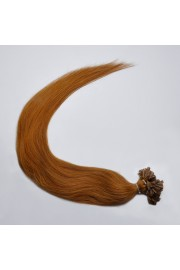 100S 65cm Full Head, Indian Remy Human Hair Extensions,Nail Tip #08, 100g