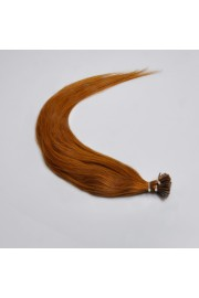 100S 45cm Stick Tip REMY HUMAN HAIR EXTENSIONS #08, 50g