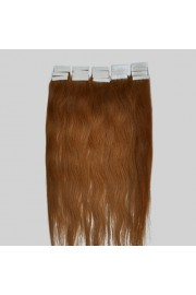40cm Remy Tape Hair Extension #08, 30g & 20S