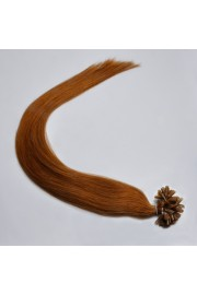 100S 70cm Nail Tip REMY HUMAN HAIR EXTENSIONS #08,100g