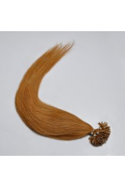 100S 45cm Nail Tip REMY HUMAN HAIR EXTENSIONS #12,50g