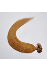 100S 40cm Full Head, Indian Remy Human Hair Extensions,Nail Tip #12,100g