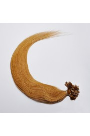 100S 60cm Full Head, Indian Remy Human Hair Extensions,Nail Tip #12,100g