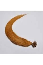 100S 65cm Remy Stick Tip HUMAN HAIR EXTENSIONS #12, 80g
