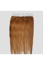 50cm Remy Tape Hair Extension #12, 50g & 20S