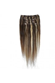 50cm 8pcs Remy HUMAN HAIR CLIP IN EXTENSION #02/613, 100g