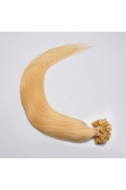 100S 55cm Full Head, Indian Remy Human Hair Extensions,Nail Tip #22,100g