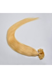 100S 60cm Full Head, Indian Remy Human Hair Extensions,Nail Tip #22,100g