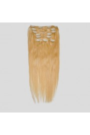 50cm 8pcs REMY HUMAN HAIR CLIP IN EXTENSION #22, 100g