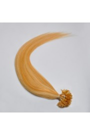 100S 50cm Nail Tip REMY HUMAN HAIR EXTENSIONS #27/613,50g