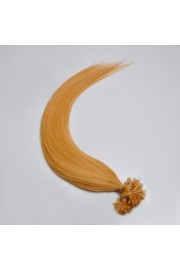 100S 45cm Nail Tip REMY HUMAN HAIR EXTENSIONS #27,50g
