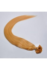 100S 60cm Full Head, Indian Remy Human Hair Extensions,Nail Tip #27,100g