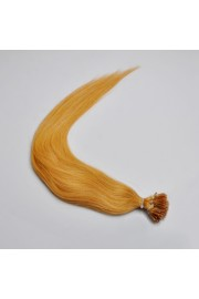 100S 50cm Stick Tip REMY HUMAN HAIR EXTENSIONS #27, 50g