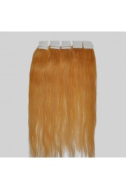60cm Remy Tape Hair Extension #27, 60g & 20S