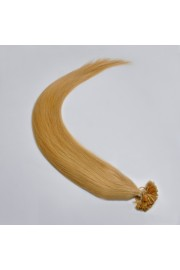 100S 60cm Nail Tip REMY HUMAN HAIR EXTENSIONS #27,100g