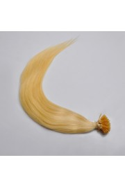 100S 55cm Remy Stick Tip HUMAN HAIR EXTENSIONS #613, 50g