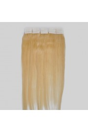 55cm Remy Tape Hair Extension #613, 50g & 20S