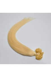 100S 55cm Nail Tip REMY HUMAN HAIR EXTENSIONS #613,50g