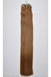 Double Drawn Remy Human Hair Extensions 100s 50cm Loop/Ring #04, 100g
