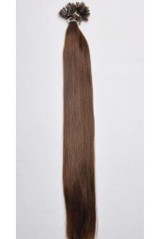 Double Drawn Remy Human Hair Extensions 100s 50cm Nail Tip #02, 100g