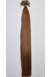 Double Drawn Remy Human Hair Extensions 100s 50cm Nail Tip #04, 100g