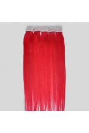 45cm Remy Tape Hair Extension #hot pink, 50g & 20S