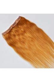 55cm Indian Remy Human Hair One Piece Volumizer Clip In Extensions #12, 60g