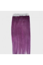 65cm Remy Tape Hair Extension #lila, 70g & 20S