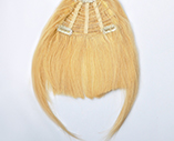 human hair fringe/bang,25g #24
